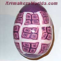 Egg purple granny